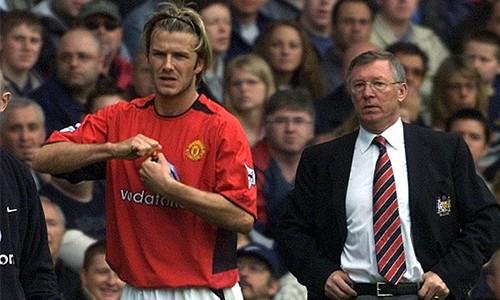 Ferguson không thích các cầu thủ của ông hành xử kiểu ngôi sao và Beckham làm ông tức giận vì điều đó.