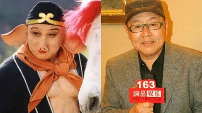 Mã Đức Hoa năm xưa và hiện tại. Ông luôn nhận mình chỉ là diễn viên hạng 3. Ảnh: Baidu.