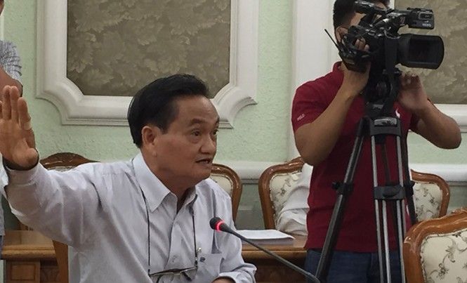 Ông Trần Du Lịch - nguyên Phó trưởng đoàn Đại biểu Quốc hội TPHCM. Ảnh: Quốc Ngọc.