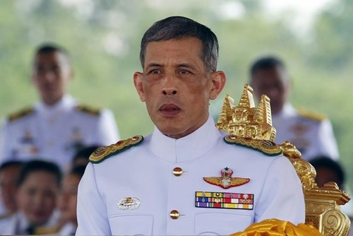 Thái tử Maha Vajiralongkorn. Ảnh: Reuters.