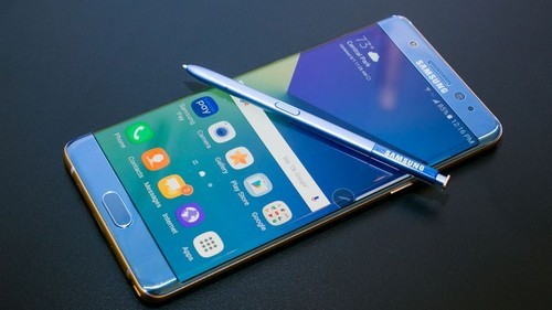 Toàn bộ Galaxy Note 7 thu hồi sẽ bị tiêu hủy.