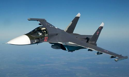 Tiêm kích bom Su-354 Nga. Ảnh: TASS.