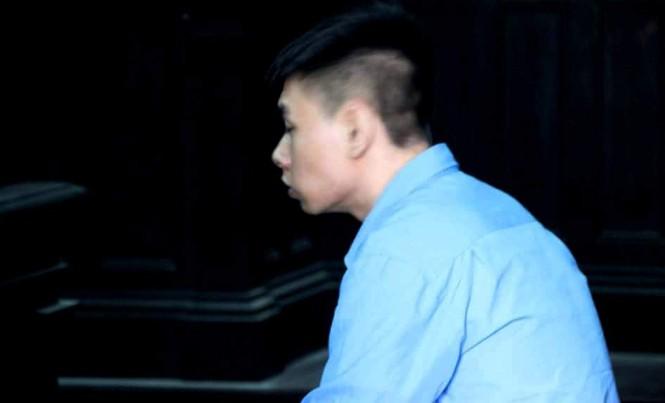 Nguyễn Tuấn Linh tại phiên tòa phúc thẩm. Ảnh: Tân Châu.