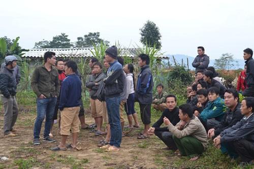 Hiện trường vụ thảm án 4 người chết. Ảnh: Báo Dân Việt