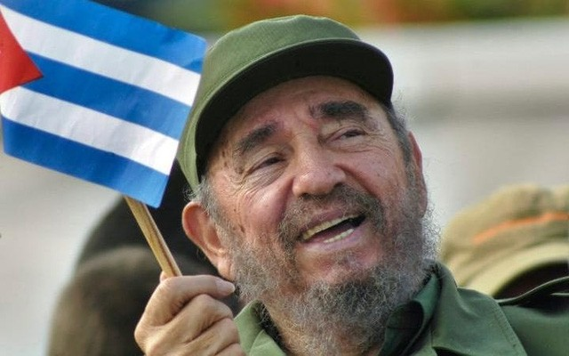 Cố lãnh tụ Cuba Fidel Castro. Ảnh: Reuters.