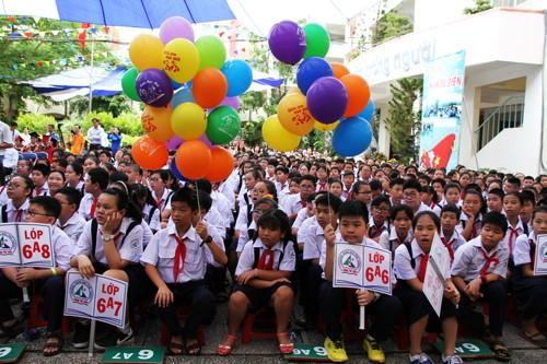 Học sinh TP HCM sẽ được nghỉ Tết Đinh Dậu 14 ngày. Ảnh: Mạnh Tùng.