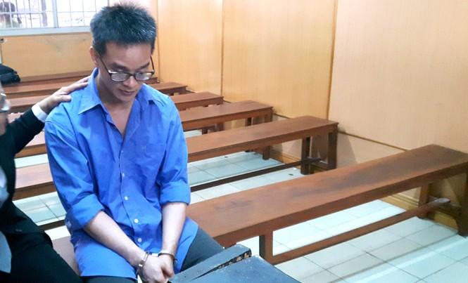 Nguyễn Đăng Thành tại phiên tòa ngày 29/11. Ảnh: Tân Châu.