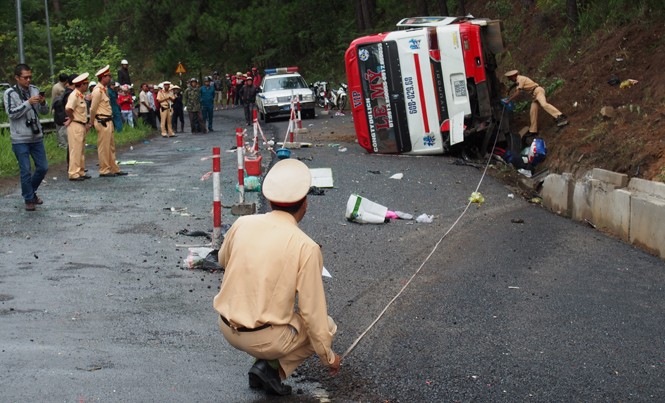 Tai nạn thảm khốc trên đèo Prenn ngày 19/6.