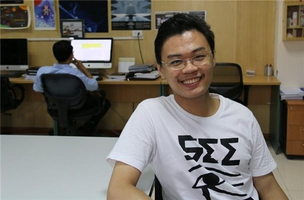 Chân dung Trương Ngọc - thực tập sinh Việt Nam đầu tiên tại NASA. Ảnh: Nguyễn Thảo.