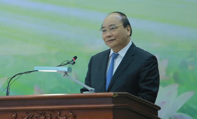 Thủ tướng phát biểu tại Hội nghị tổng kết công tác năm 2016, phương hướng năm 2017 của Viện Hàn lâm KH&CN Việt Nam.