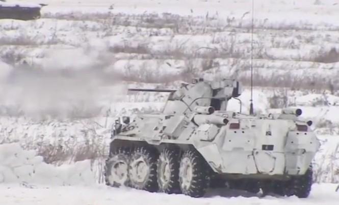 Robot sát thủ Nga hiệp đồng chiến đấu với bộ binh