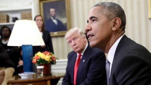 Tổng thống Obama điện đàm với ông Trump bàn về việc chuyển giao quyền lực êm thấm.