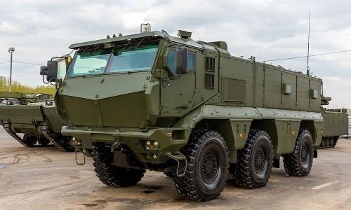 Xe thiết giáp Typhoon-K 63968  của Nga. Ảnh: Defense-blog.