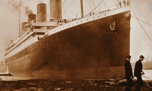 Hỏa hoạn có thể là thủ phạm thực sự gây đắm tàu Titanic. Ảnh: Steve Raffield.