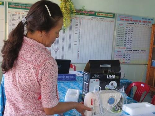 Do quá tin tưởng, nhiều giáo viên bị lừa mua máy sục khử độc ozone. Ảnh minh họa: Báo Phụ nữ Thành phố Hồ Chí Minh.