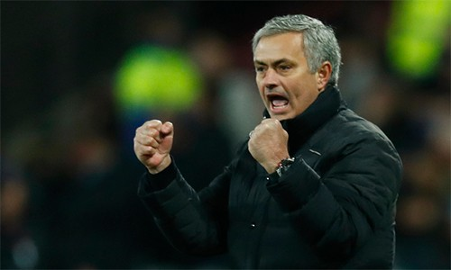 Mourinho cần điểm số và những màn trình diễn tốt, chứ không màng đến các thống kê về thành tích. Ảnh: Reuters.