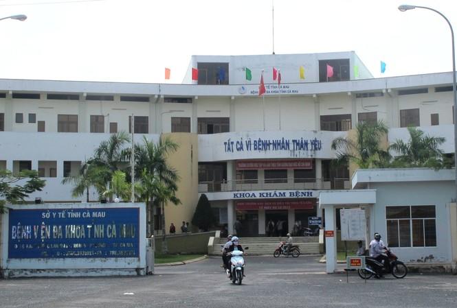 Bệnh viện đa khoa Cà Mau.