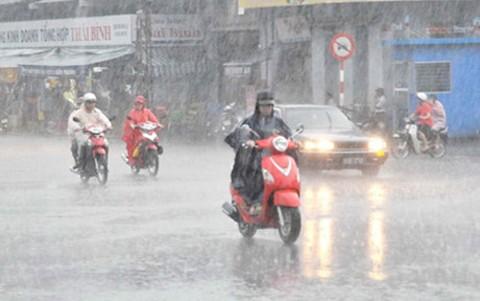 Miền Bắc mưa trên diện rộng, vùng núi đề phòng nguy cơ sạt lở. Ảnh: Internet.