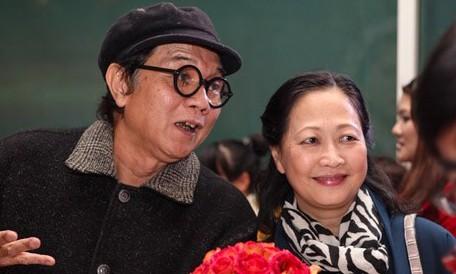 Vợ chồng nhiếp ảnh gia Nguyễn Hữu Bảo - NSND Như Quỳnh. Ảnh gia đình cung cấp.