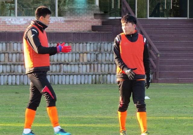 Xuân Trường đang thể hiện tốt trong màu áo Gangwon FC.