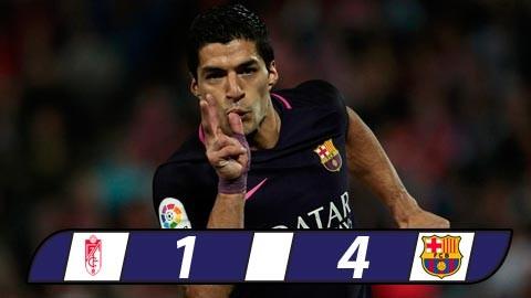 Suarez tỏa sáng, Barca duy trì sức ép lên Real