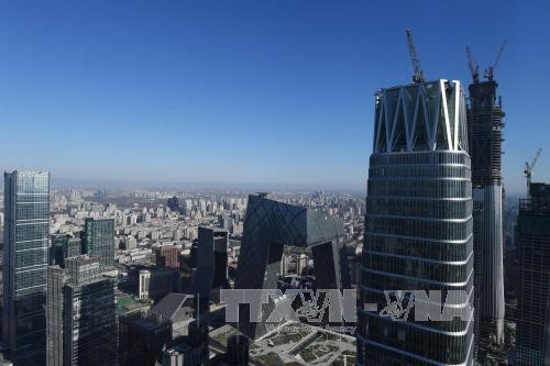 Một góc thành phố Bắc Kinh, Trung Quốc. Ảnh: AFP/TTXVN.