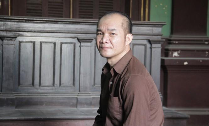Hoàng Đức Dương tại tòa ngày 12/4. Ảnh: Tân Châu.