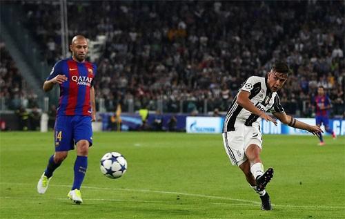 Hai bàn của Dybala sớm đem lại sự khác biệt. Ảnh: Reuters.