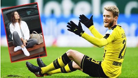 Ngôi sao Dortmund hụt hơi vì cặp bồ siêu mẫu