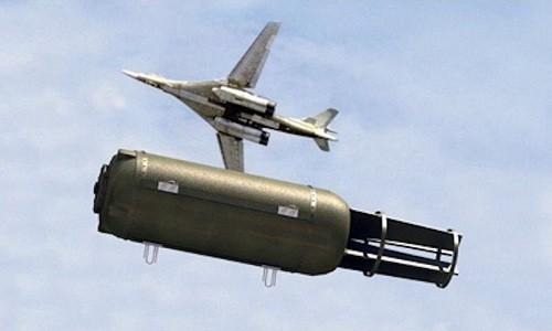 FOAB được coi là bom phi hạt nhân mạnh nhất thế giới hiện nay. Ảnh: Drive.