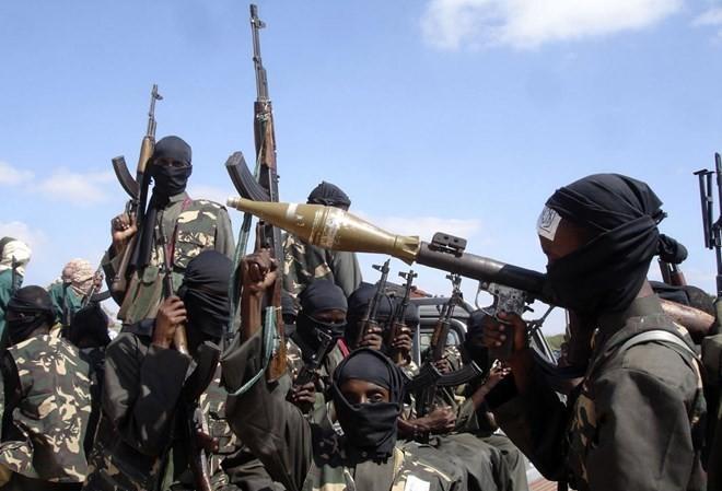 Phiến quân Al Shabab ở Somalia.(Nguồn: AFP)