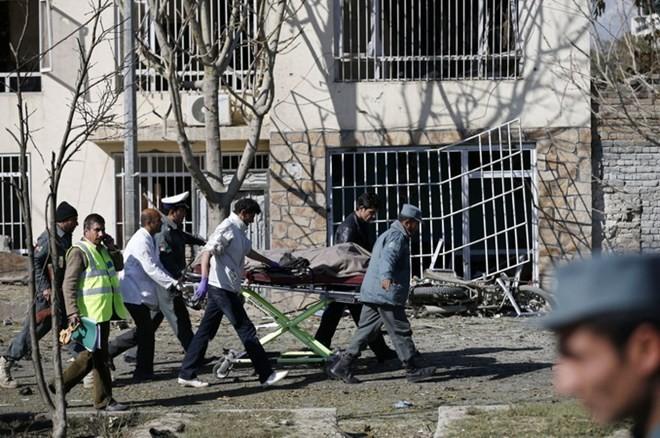 Một vụ đánh bom liều chết ở thủ đô Kabul. (Nguồn: Reuters)