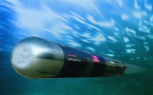 Ngư lôi chống ngầm hạng nặng Spearfish.