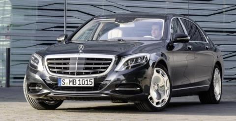 Chiếc Mercedes Maybach S600, có giá hơn 9,6 tỉ đồng tại Việt Nam