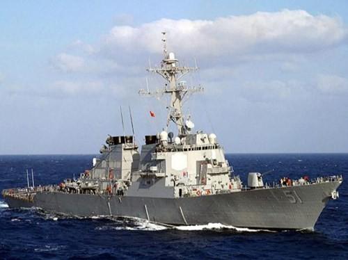 Tàu khu trục USS Arleigh Burke (DDG-51), chiếc đầu tiên của phiên bản DDG-51