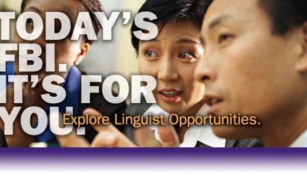 FBI tuyển dụng nhân viên ngôn ngữ