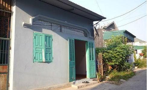 Căn nhà nơi hai vợ chồng chị Mai sinh sống trước ngày xảy ra vụ án..