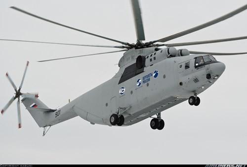 Đây là lần đầu tiên Nga cho phép xuất khẩu biến thể hiện đại hóa của mẫu trực thăng vận tải hạng nặng Mi-26T2.