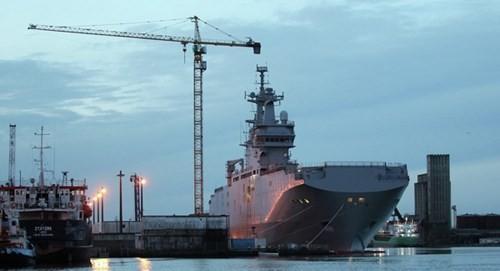 Tàu Mistral mà Nga đang khao khát.