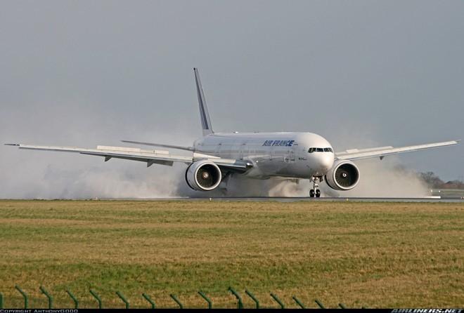 Máy bay Boeing 777 của hãng hàng không Pháp Air France. Ảnh: Airliners.net