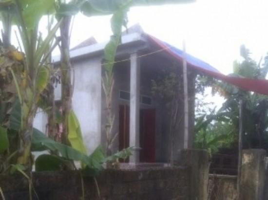 Ngôi nhà, nơi xảy ra vụ việc đau lòng. Ảnh: Quốc Doanh