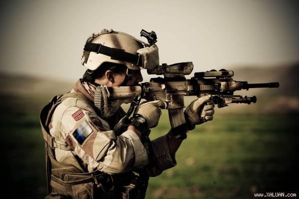 HK416 với nhiều ưu điểm xứng đáng là vũ khí quân sự thay thế M16