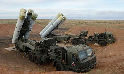 Hệ thống phòng không S-400 của Nga. Ảnh: RIA Novosti.