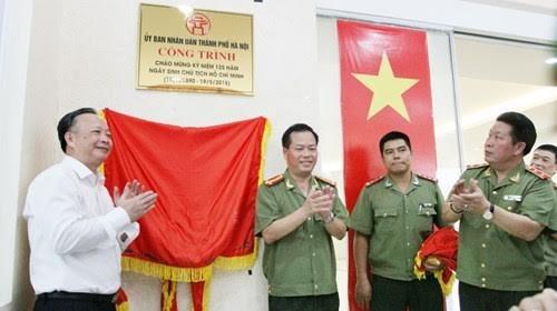 Khánh thành trụ sở làm việc của 3 đơn vị thuộc Công an Hà Nội