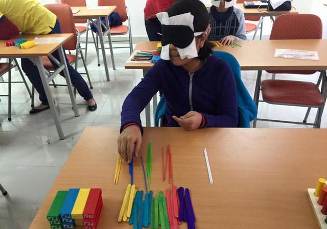 Học sinh tham gia lớp học kích hoạt não