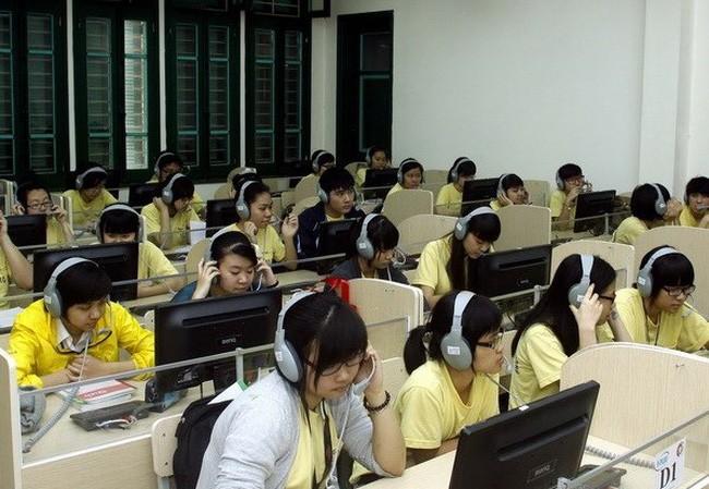Thời lượng học ngoại ngữ trong nhà trường hiện nay còn quá ít. Ảnh mang tính minh họa, nguồn Internet