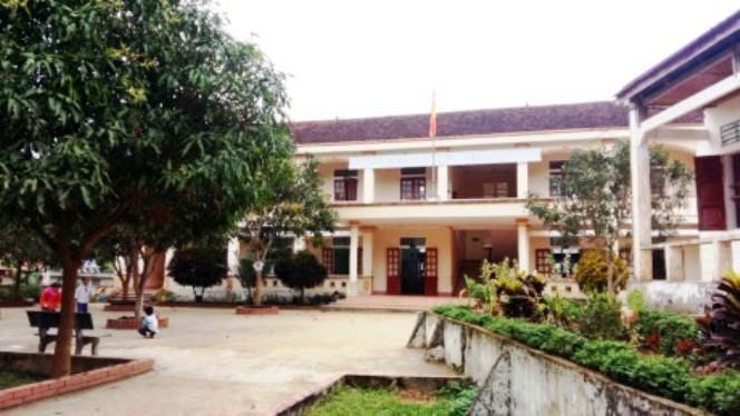 Trường Tiểu học Diên Lãm, huyện Quỳ Châu, nơi xảy ra sự việc
