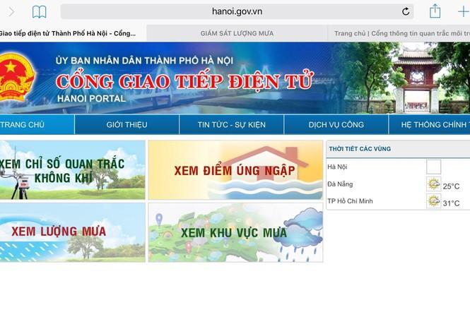 Hà Nội công khai chỉ số chất lượng không khí lên mạng