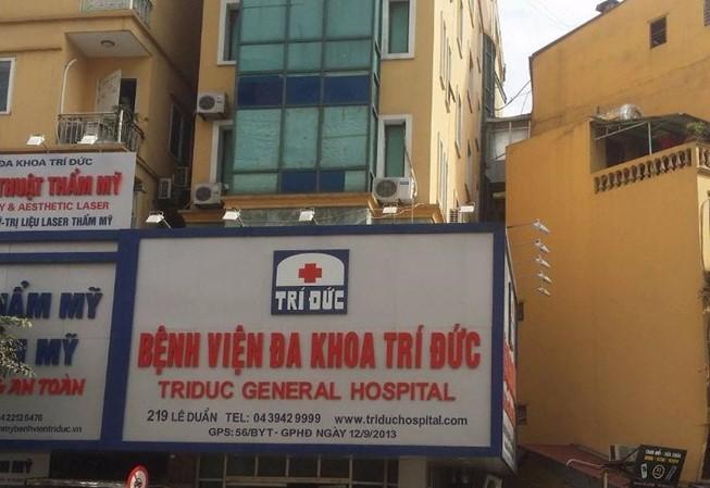 Sở Y tế thông tin vụ 2 người tử vong sau gây mê ở Bệnh viện Trí Đức