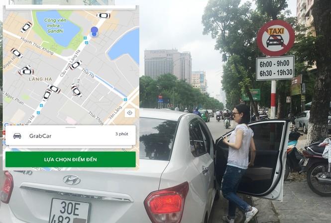 Đề xuất cắm biển cấm xe chở khách như taxi trên 5 tuyến phố